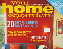 Your Home And Garden August 2003