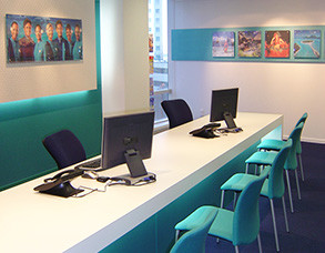 Air Tahiti Office Fitout - Auckland Office