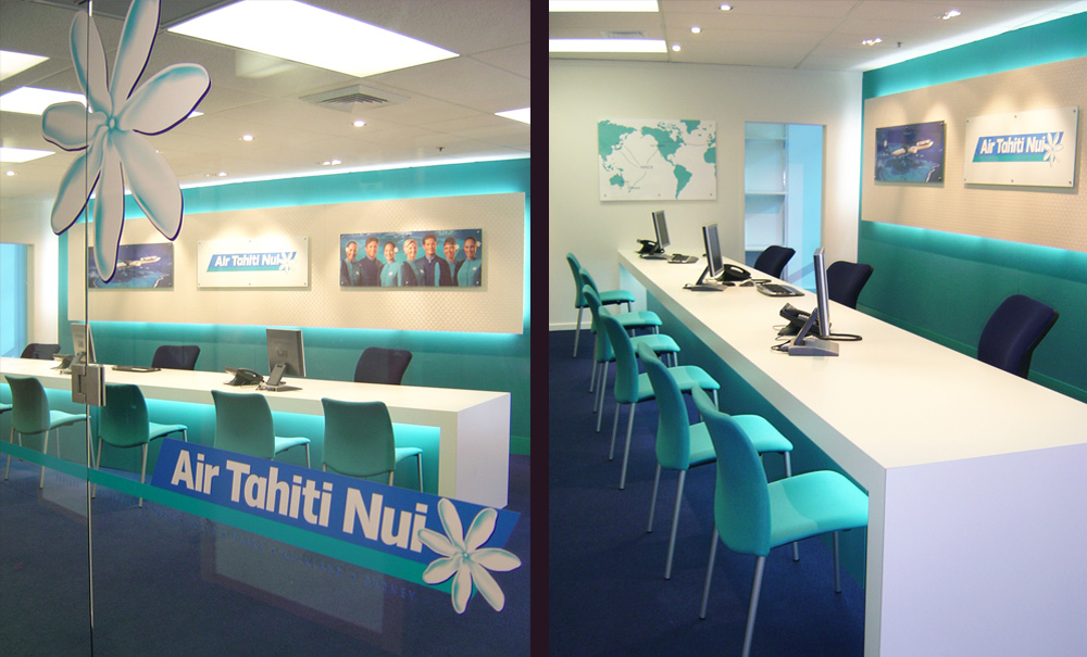 Air Tahiti Fit Out Auckland Office