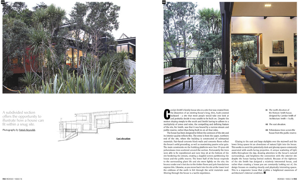 Houses Issue 16 Winter 2010- pages 62-63