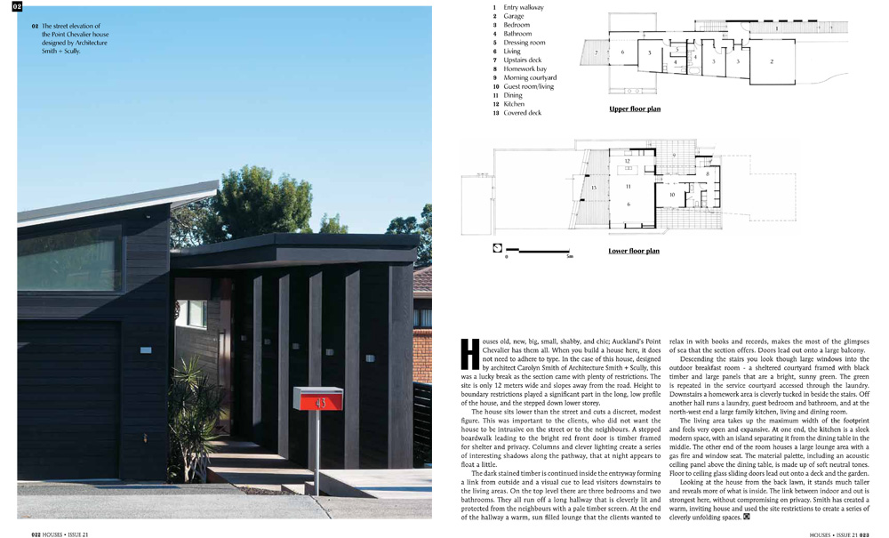Houses Issue 21 Spring 2011- pages22-23