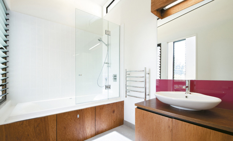 Modern New House in Point Chevalier- Bathroom