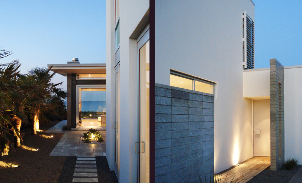Mt Maunganui Beach House- Exterior Block