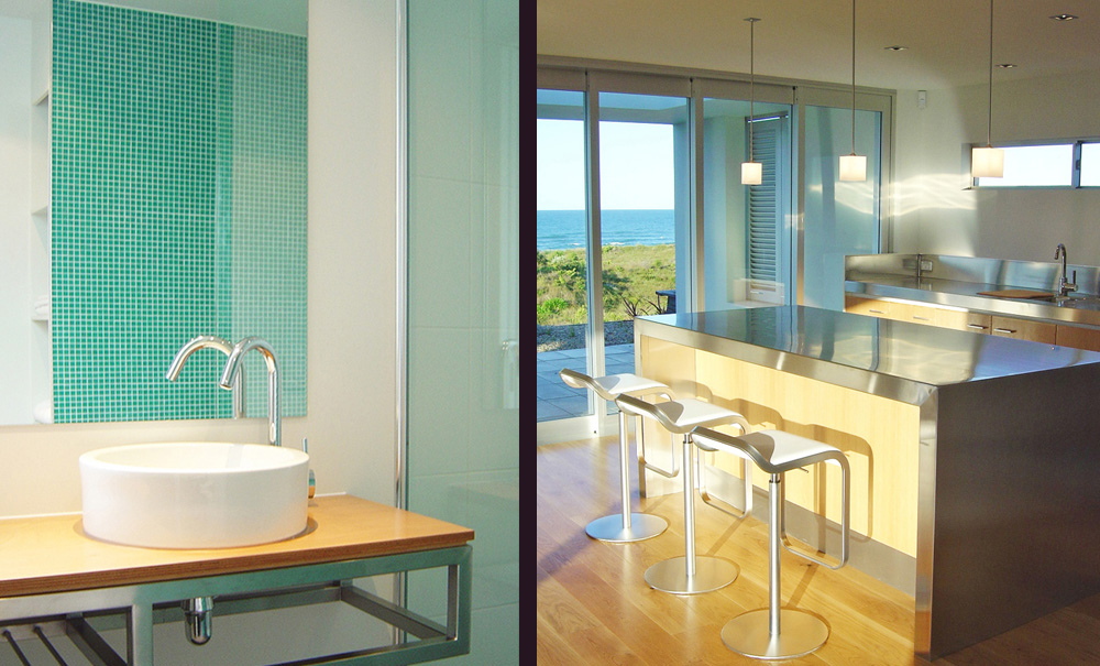 Mt Maunganui Beach House- Bathroom- Kitchen