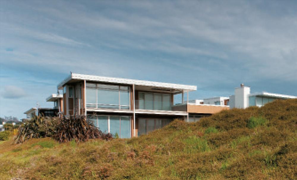 Omaha Beach House- From the Beach