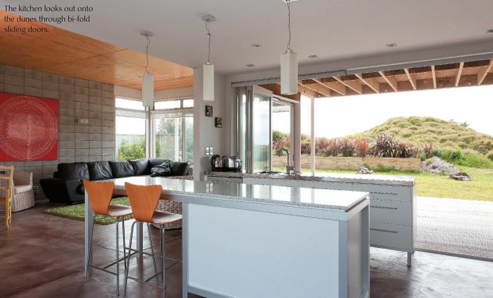 Omaha Beach House- Kitchen